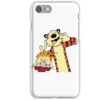 calvin and hobbes 2 iPhone Case/Skin