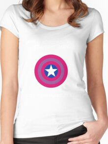Try Someplace Else! Women's Fitted Scoop T-Shirt