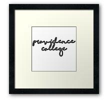Providence 1  Framed Print