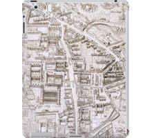 Vintage Map of Cambridge England (1574) iPad Case/Skin