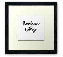 Providence 2  Framed Print