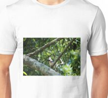 Blue Jay Looking Up Unisex T-Shirt