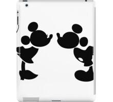 Mickey Silhouette iPad Case/Skin