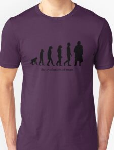 The evolution of man/ To Jamie Fraser Unisex T-Shirt