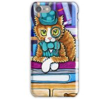 The Book Keeper iPhone Case/Skin