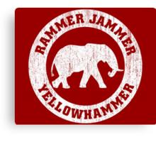 Vintage Rammer Jammer Canvas Print