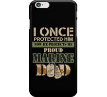 Proud Marine Dad iPhone Case/Skin