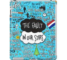 The Fault in Our Stars Collage iPad Case/Skin