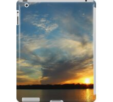 Sunset over the Mississippi iPad Case/Skin