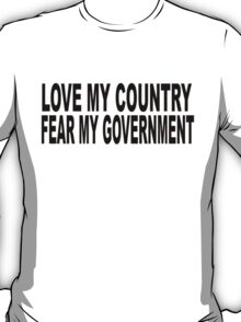love my country T-Shirt