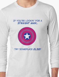 Try Someplace Else! - Dark Long Sleeve T-Shirt