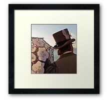 Parasol And Top Hat Framed Print