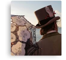 Parasol And Top Hat Canvas Print