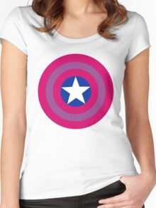 Bi Cap Women's Fitted Scoop T-Shirt