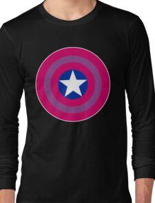 Bi Cap Long Sleeve T-Shirt