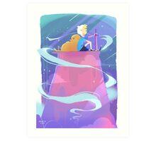 Adventure Time - Finn and Jake Art Print