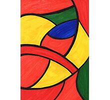 Abstract Parrot  Photographic Print