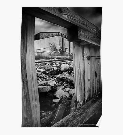 Urban Decay - Shipyard | East Marion, New York  Poster
