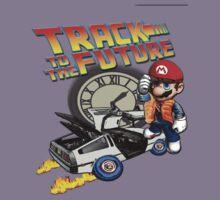 Track to the future Kids Tee