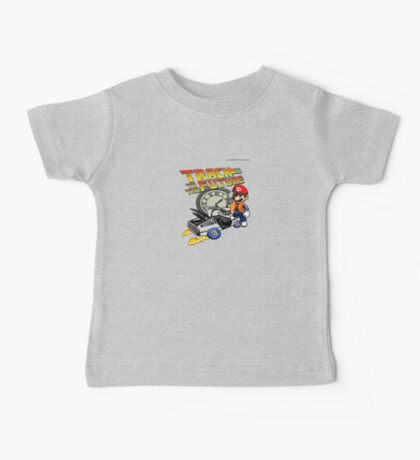 Track to the future Baby Tee