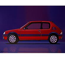 Peugeot 205 GTI Painting Photographic Print