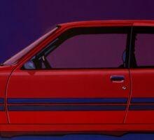 Peugeot 205 GTI Painting Sticker