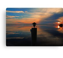 Under a Swooning Sky Canvas Print
