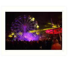 Dark MOFO, Ferris Wheel #2 Art Print