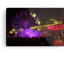 Dark MOFO, Ferris Wheel #2 Metal Print