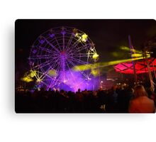 Dark MOFO, Ferris Wheel #2 Canvas Print