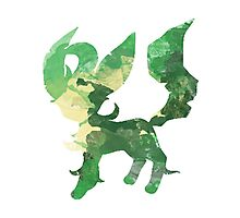 Leafy Leafeon Photographic Print