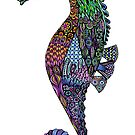 Mr. Electric Seahorse by Tammy Wetzel