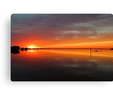 Unimagined Passioned Canvas Print
