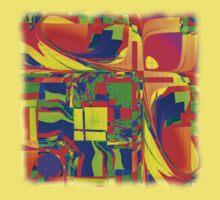 Abstract 0020 Kids Tee