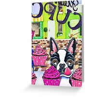 Bosto-licious Greeting Card