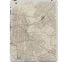 Vintage Map of Camden NJ (1921) iPad Case/Skin