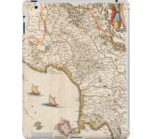 Vintage Map of Campania Italy (1662) iPad Case/Skin