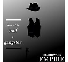 Half a Gangster Photographic Print
