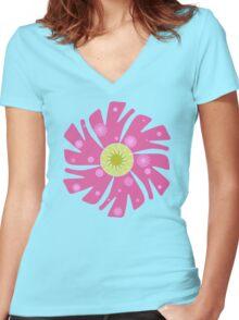 Venusaur Flower Women's Fitted V-Neck T-Shirt