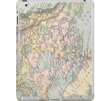 Vintage Map of Canada (1892) iPad Case/Skin