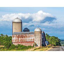 Rural New York Barn Photographic Print