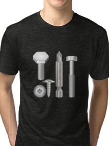 Bolts and Nuts Tri-blend T-Shirt