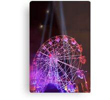Dark MOFO, Ferris Wheel Metal Print