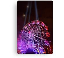 Dark MOFO, Ferris Wheel Canvas Print