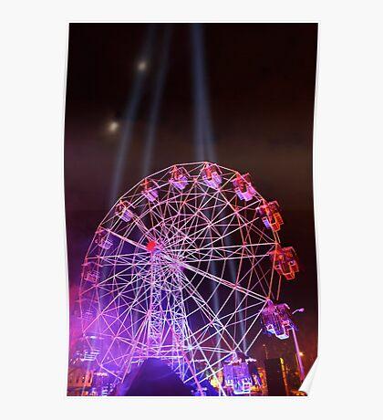 Dark MOFO, Ferris Wheel Poster