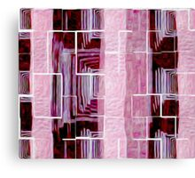 Blocks Over Zoom to Green Canvas Print