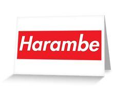 Supreme x Harambe Greeting Card