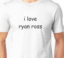 i love ryan ross Unisex T-Shirt