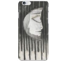 lone moon iPhone Case/Skin