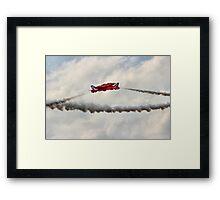 Red Arrows Synchro Pair - Farnborough 2014 Framed Print